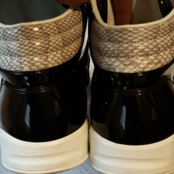 a1495f36fa2 Gucci Other - Gucci High Top with Python Snakeskin Trim